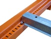 "INTERLAKE ROLL-IN CROSSBARS FOR SLOTTED BEAMS WITH 1-5/8"" STEP"