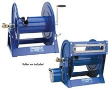 HAND CRANK & POWERED REWIND HOSE REEL